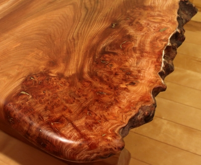 'Side of Salmon' table burr