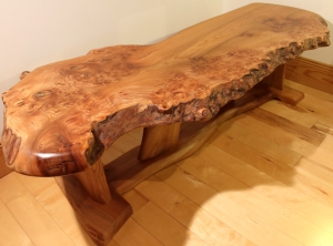 'Crotchet' Elm table