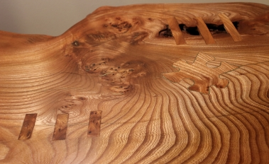 'Jigsaw' Coffee table detail
