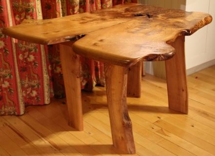 'Cere' Burr Elm Dining Table