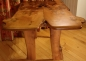 'Cere; Burr Elm Dining Table top