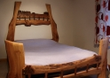 Stitched Four Poster Bed