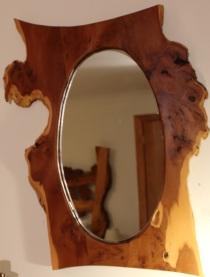 Yew Vanity Mirror