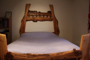 Stitched Four Poster Front