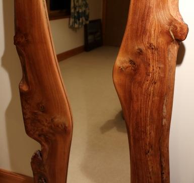 Full Length Burr Elm Mirror shape
