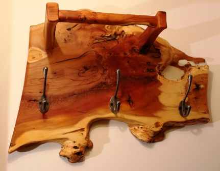Small Yew Coat Hanger