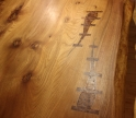 'River Dining Table detail