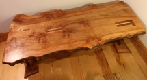 Trio Coffee table side view