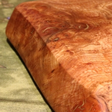 Live Edge Burr Elm Board side