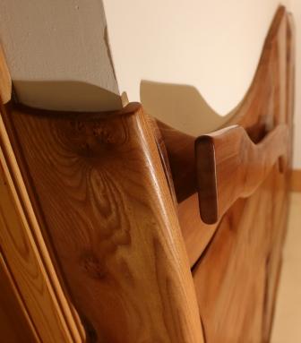 Axe handle hand rail