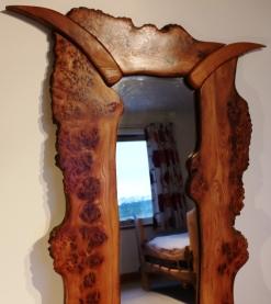 Inset Shape Mirror top