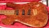 Solid Burr Guitar body